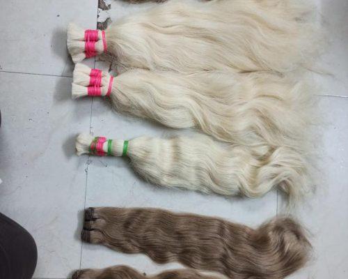 Wet Human Hair Extensions